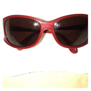 100% Authentic red Marc Jacobs sunglasses